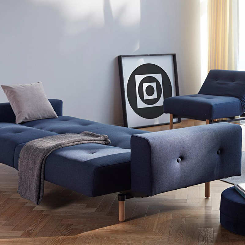 Ample Stem Sofa Bed With Arms 9